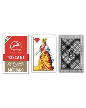 Carte toscane rosso 150 modiano pz.40 MODIANO 300119 8003080001198 300119