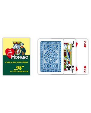 Carte poker 98 blu modiano pz.54 MODIANO 300250 8003080002508 300250 by No