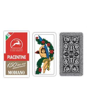 Carte piacentine rosso 150 modiano pz.40 MODIANO 300084 8003080000849 300084 by No