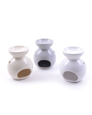 Brucia essenze in ceramica diam.11 h.13 cm col. ass MERCURY 36911 8034052236911 36911