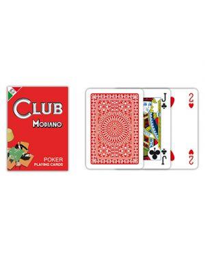 Carte poker club rosso modiano pz.54 MODIANO 300382 8003080003826 300382 by No