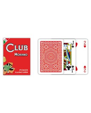 Carte poker club rosso modiano pz.54 MODIANO 300382 8003080003826 300382