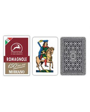 Carte romagnole bordeaux 150 modiano pz.40 MODIANO 300079 8003080000795 300079 by No