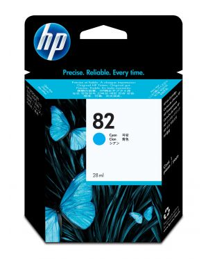 Cartuccia ink hp 82 da 28ml ciano HP Inc CH566A 884420395638 CH566A_94301SL