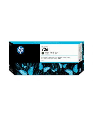 Cart.ink nero opaco n°726  300ml HP Inc CH575A 884420836360 CH575A_9431EJM