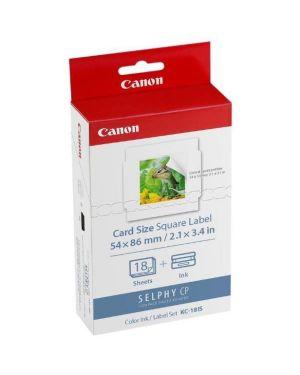 Kc-18is kit inchiostro  -  carta Canon 7429B001 4960999922171 7429B001