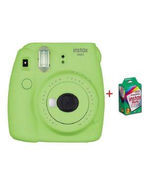 Instax mini 9 lime green kit 10 Fujifilm 70100141220 5036321129224 70100141220