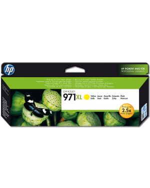 Ink cartridge no 971xl yellow HP - OPS SUPP A4 PAGE WIDE INK (K6) CN628AE 886112877422 CN628AE_9437QVC