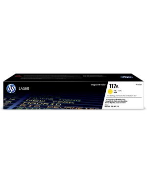 Hp117a yellow org laser toner HP - HPS OEM A3 SUPPLIES(G0) W2072A 193424172825 W2072A