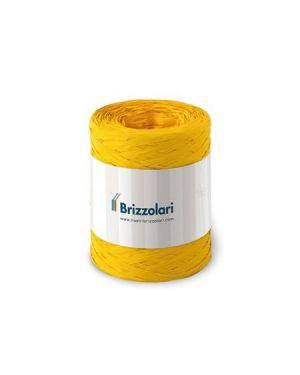 Rafia sintetica 6802 100mt giallo Brizzolari 010621-02 8031653221582 010621-02