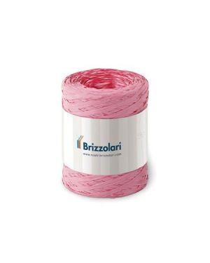 Rafia sintetica 6802 100mt rosa Brizzolari 010621-05 8031653221599 010621-05