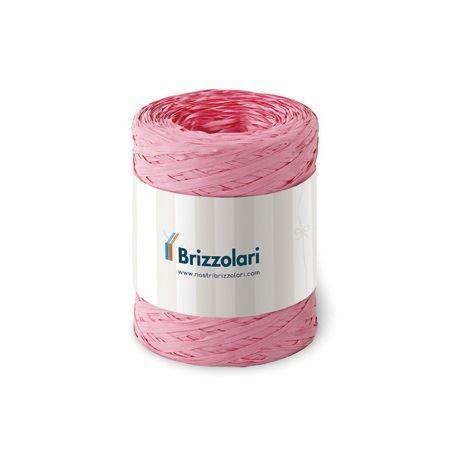 Rafia sintetica 6802 100mt rosa Brizzolari 010621-05 8031653221599 010621-05 by Brizzolari