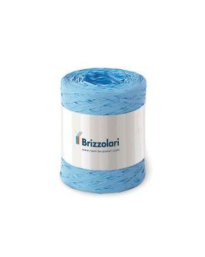 Rafia sintetica 6802 100mt azzurro Brizzolari 010621-06 8031653354907 010621-06