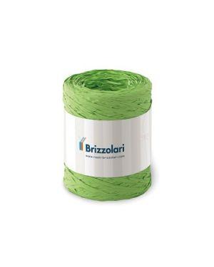 Rafia sintetica 6802 100mt verde ch Brizzolari 010621-10 8031653221650 010621-10