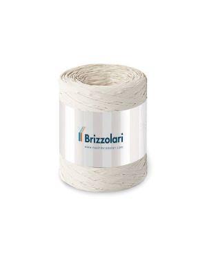 Rafia sintetica 6802 100mt latte Brizzolari 010621-25 8031653426123 010621-25