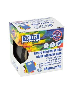 Nastro tela tpa200 nero 38x2.7 Eurocel 016714314A 8001814002084 016714314A by Eurocel