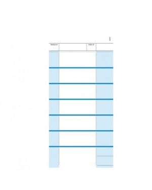 Comande a 7 tagliandi snap 2 copie autoric.23x10,5cm du16197t000 data ufficio DU16197T000 87921 A DU16197T000