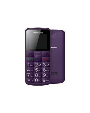Cellulare senior kx-tu110 viola Panasonic KX-TU110EXV 5025232891870 KX-TU110EXV
