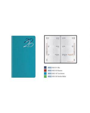 Agenda 8x14 tascabile 7gg jeans turchese 55200319 BALDO 55200319 803279365379 55200319