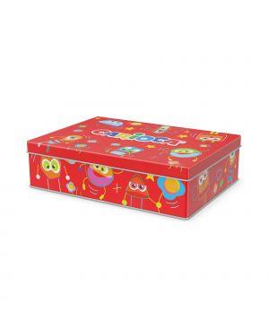 Scatola 100 pennarelli color kit colori assortiti carioca 42736 8003511437367 42736-1