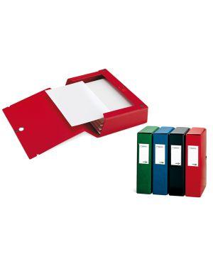 Scatola archivio scatto 40 25x35cm rosso sei rota 67900412 8004972011332 67900412-1