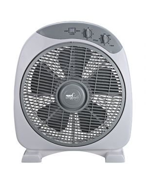 Ventilatore box fan timer diametro cm.30 3 velocita e timer MELCHIONI 118620031 8006012364255 118620031