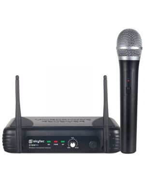 Kit radiomicrofono vhf c - 1 microfoni ad impugnatura skytec 179.185 MELCHIONI 550923348 8715693255430 550923348