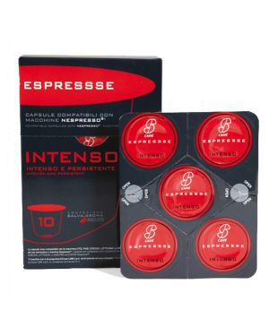 Capsula caffe' intenso compatibile nespresso - esssecaffe&#39 PF 2409 81856 A PF 2409