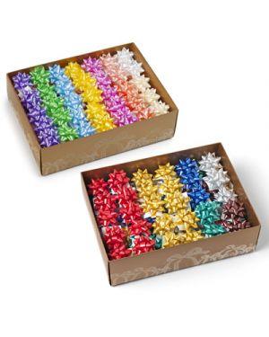 Stella adesiva starlight liscia mm.10 pezzi 100 colori assortiti BRIZZOLARI 3000 8004451030007 3000_25675 by Brizzolari