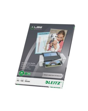 100 pouches ilam a3-303x426mm 80micron leitz 74850000 4002432397693 74850000 by Leitz