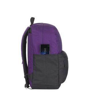 Zaino per Notebook da 15.6 violet - black Rivacase cod. 5560VB 4260403575482 5560VB