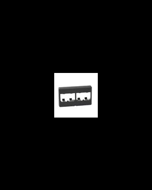 Placca 503 per 4 mini-com nera Panduit CFFP4BL 74983584604 CFFP4BL