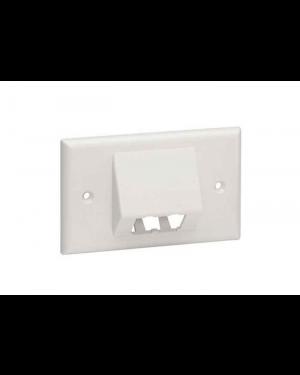 Placca per 4 mini-com bianca Panduit CFPHSL4IW 74983783816 CFPHSL4IW