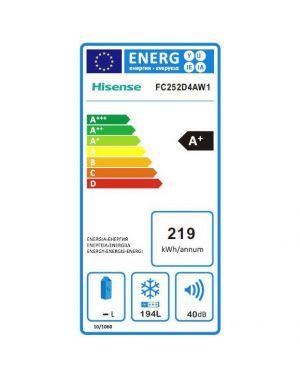 Congelatore oriz 97l Hisense FC124D4AW1 6921727021267 FC124D4AW1