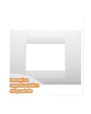 Placca geo 6p bianco latte Gewiss GW16406TB 8011564743083 GW16406TB