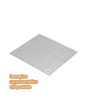 Piastra fondo acciaio zinc. 293x202 Gewiss GW76275 8011564223813 GW76275