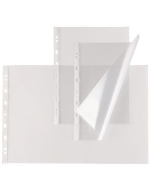 10 buste forate atla t 150 30x42cm liscio a3 libro sei rota 663015 8004972012803 663015