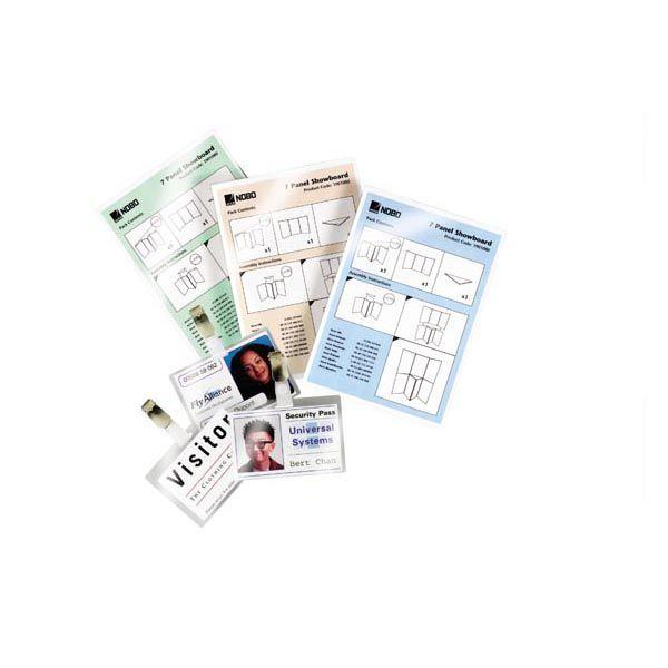 Scatola 100 pouches 2x125mic 65x95mm goverment gbc 3740301 33816028623 3740301 by Gbc