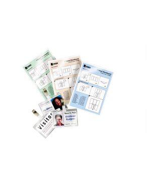 Scatola 100 pouches 2x125mic 75x105mm jumbo card gbc 3740303 33816028647 3740303