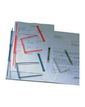 100 fermafogli in plastica dataclip per tabulati 000965E 8013001014640 000965E_30710