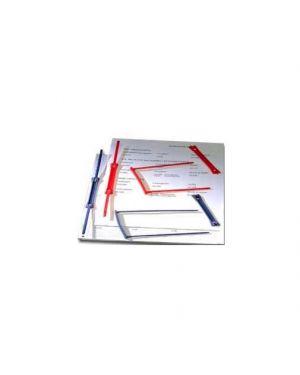 100 fermafogli in plastica dataclip per tabulati 000965E_30710