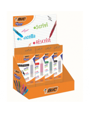 Display da 30 blister 3 refill bic illusion BIC 972038 3086123558328 972038 by Bic