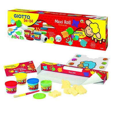Giotto be-be maxi roll painting set Giotto 471800 8000825023538 471800 by Giotto