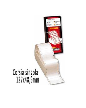 Scatola 3000 etichette adesive s615 127x48,9mm corsia singola markin 200S615 8007047007650 200S615_31012