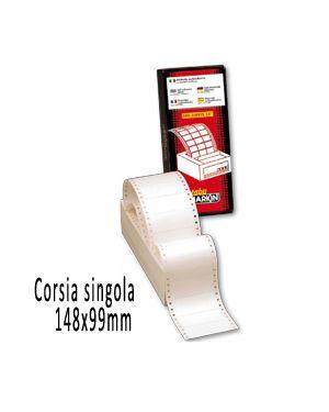 Scatola 1500 etichette adesive s625 148x99mm corsia singola markin 200S625 8007047007759 200S625_31015