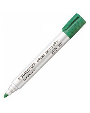 Pennarello lumocolor 351 verde p.tonda per lavagne cancellabili 3515 4007817328835 3515