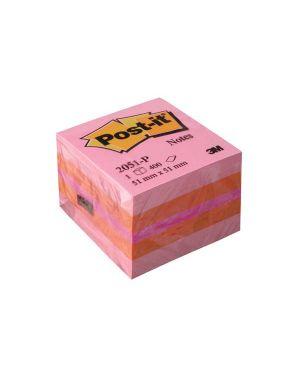 Blocco minicubo 400foglietti post-it® 51x51mm 2051-l giallo neon 7100172394 4001895853814 7100172394