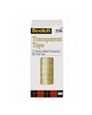 Torre 10 rt nastro adesivo scotch® 550 15mmx66m in ppl 7100194365 3134375305266 7100194365