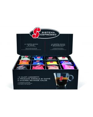 Set degustazione 36 capsule ass. caffe' e bevande essse caffe&#39 PF2009 8001953000415 PF2009