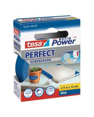 Nastro adesivo telato 19mmx2,7mt blu 56341 xp perfect 56341-0002903 4042448044037 56341-0002903_37926 by Tesa